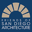 Friends of San Diego Architecture Logo